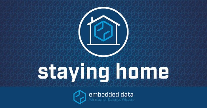 staying home embedded data
