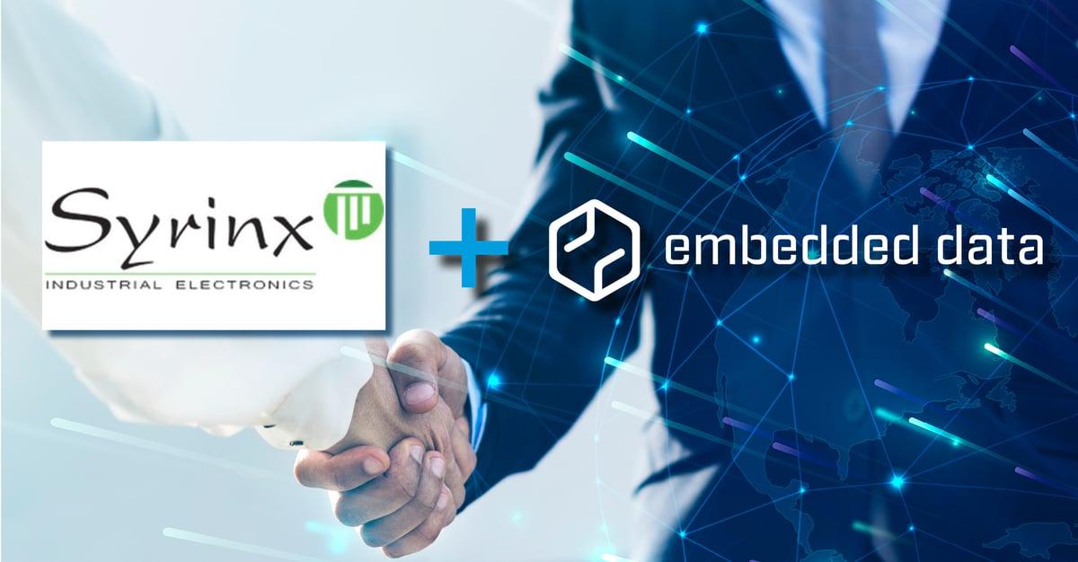 Technische Kooperation zwischen Syrinx und embedded data